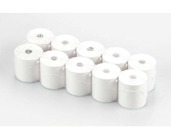 photo de 10 rouleaux de papier thermique