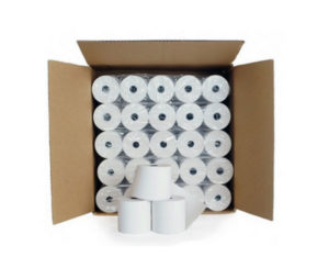 Carton de 40 rouleaux de papier thermique 60x46x12