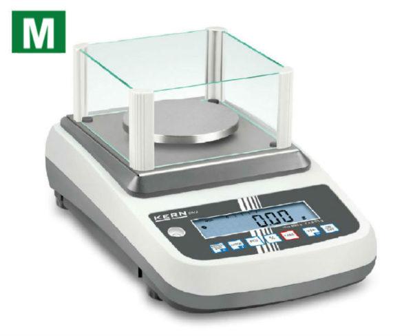 photo d'une balance de précision ewj avec logo