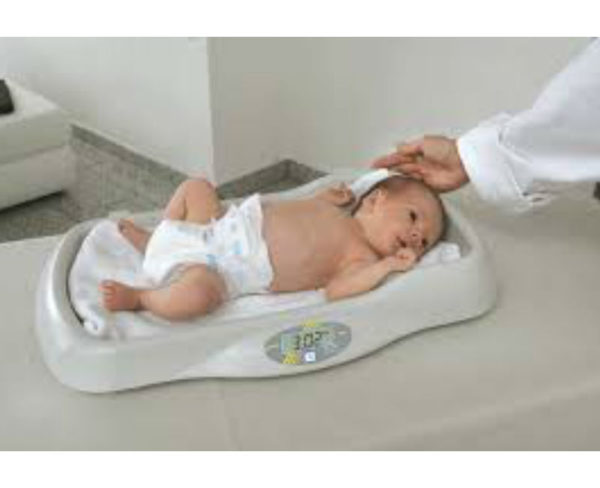 Pèse bébé MBE avec bébé