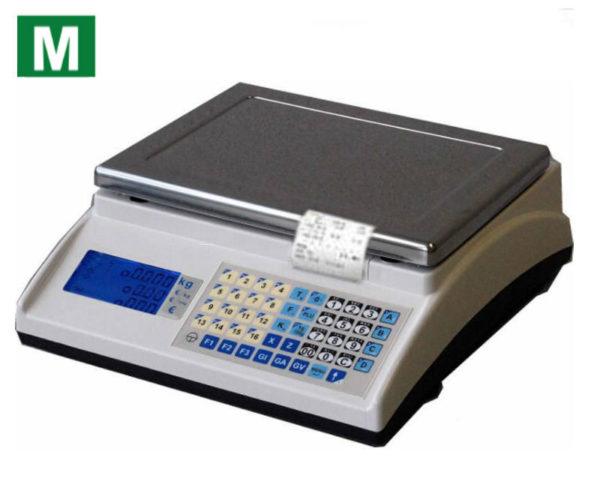 photo d'une balance poids prix eco print avec logo