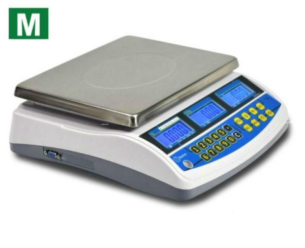 photo d'une balance poids prix rxb avec logo