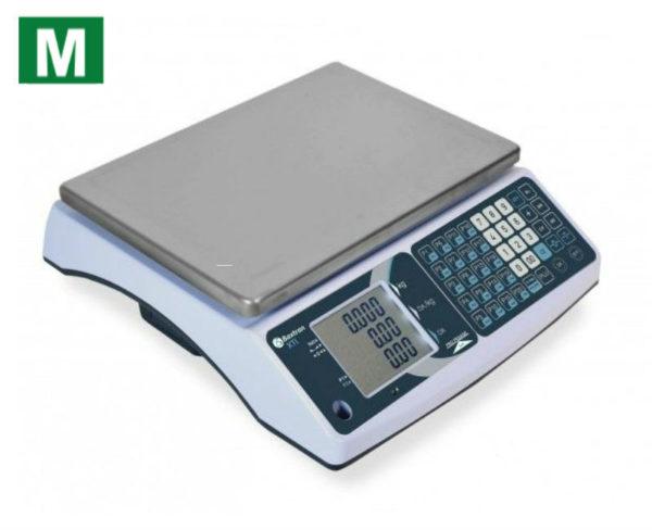 photo d'une balance poids prix xti avec logo métrologique