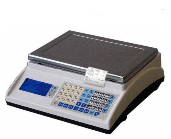 photo d'une balance poids prix à ticket easymarket