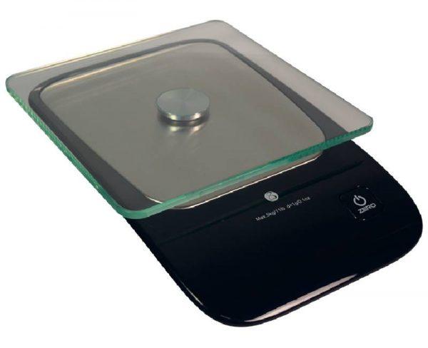 Photo d'une balance de cuisine Glass KS