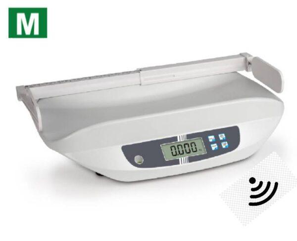 photo du pèse bébé MBA avec technologie Safe Guard homologué