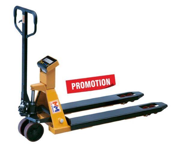 photo d'un transpalette peseur standard en promotion